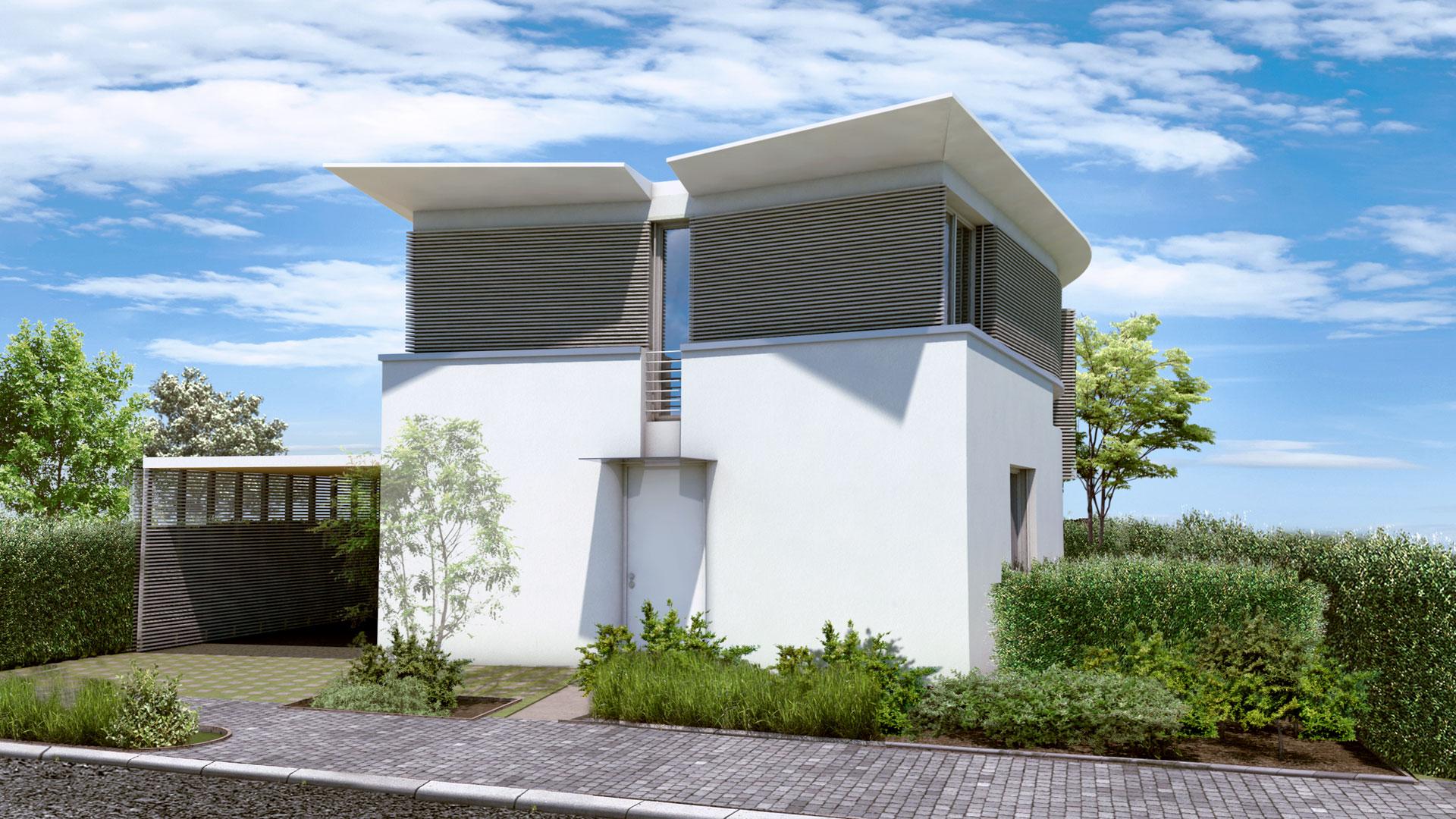 Haus Segment Front
