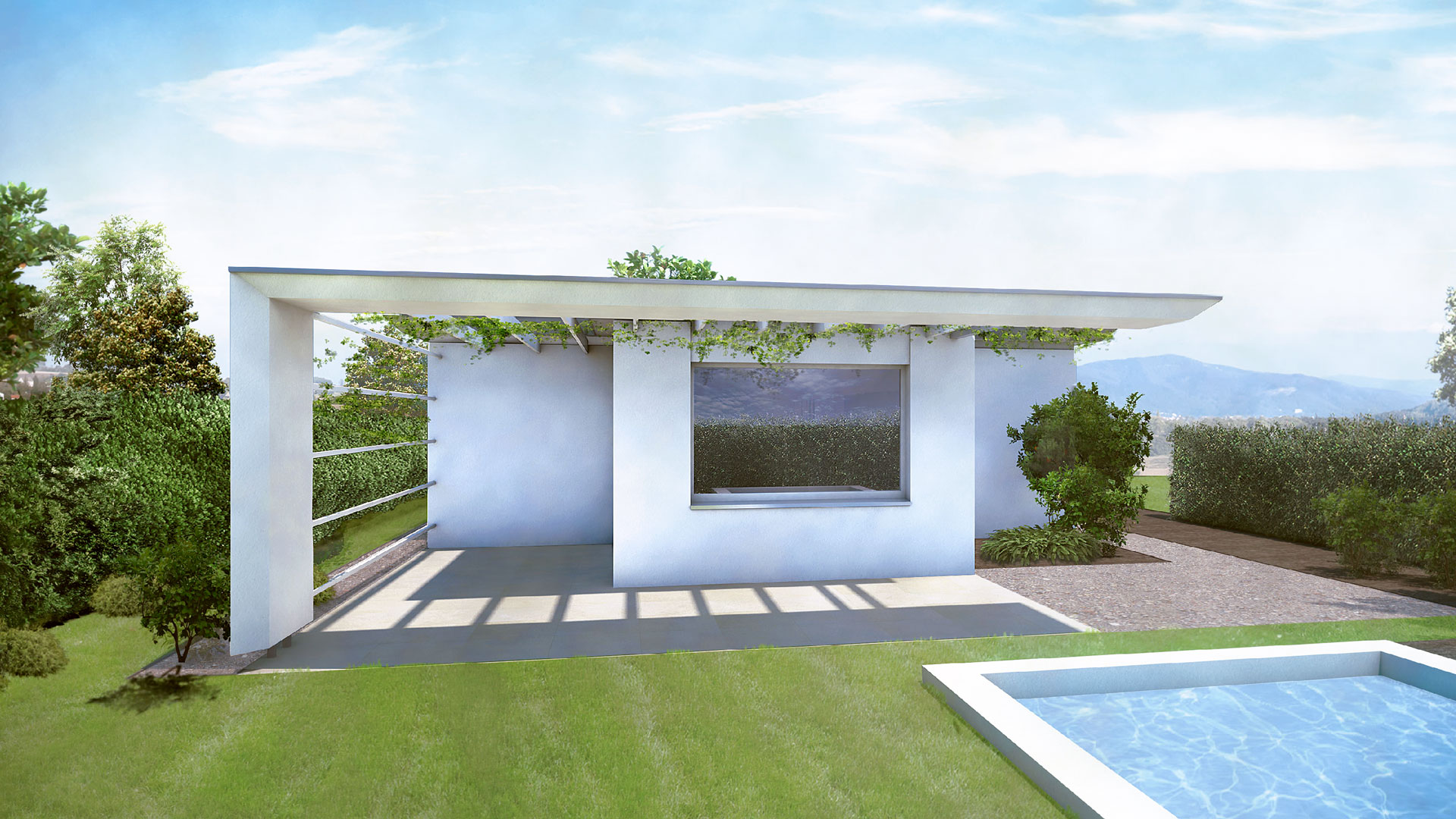 Haus Orthogon Terrasse